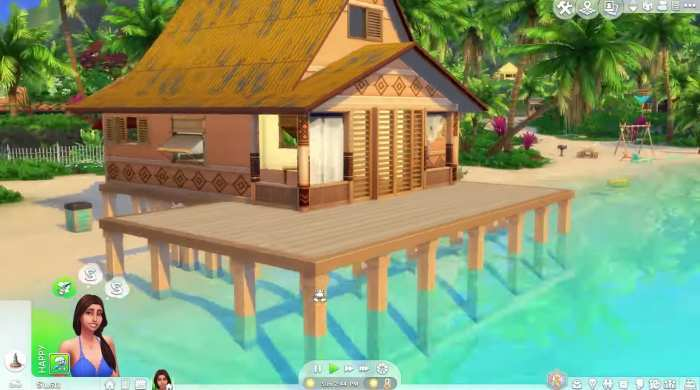 The Sims 4 Island Living Game Free Download Torrent